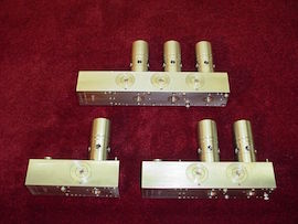 Upgraded USC stainless steel spray valves and wireplates
